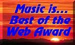 Music is best of the web award
